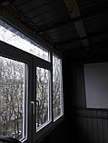 Наружная (внешняя) обшивка балкона профлистом (профнастилом), фото 3