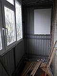 Наружная (внешняя) обшивка балкона профлистом (профнастилом), фото 4