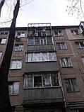 Наружная (внешняя) обшивка балкона профлистом (профнастилом), фото 7