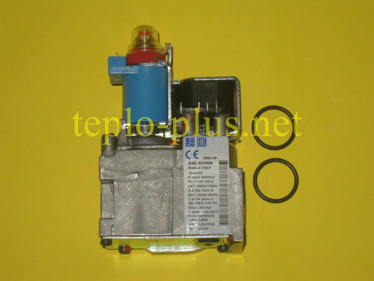 Газовый клапан Sit 845 SIGMA (фланцевое соединение) 65104254 (997656) Ariston Egis, Clas, Genus, Matis