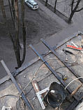 Наружная (внешняя) обшивка балкона профлистом (профнастилом), фото 8