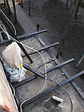 Наружная (внешняя) обшивка балкона профлистом (профнастилом), фото 9