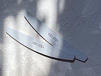 Пилочки  маникюрные ромб серая Profi 150/180 грид, фото 1