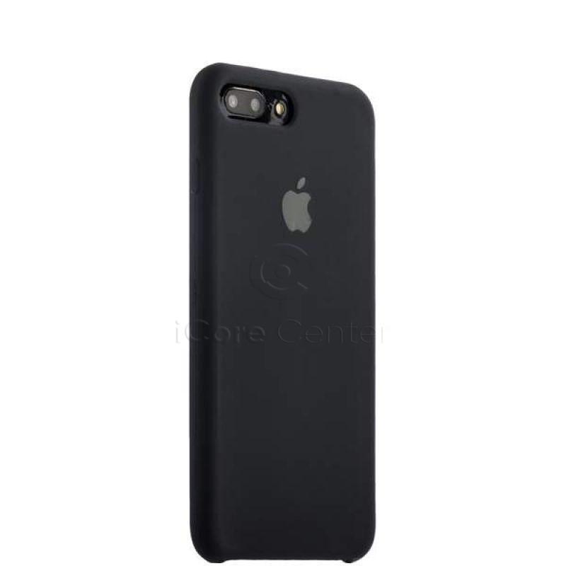 Чохол-накладка силіконовий Silicone Case для iPhone 7 Plus / 8 Plus (5.5) Black (Чорний)