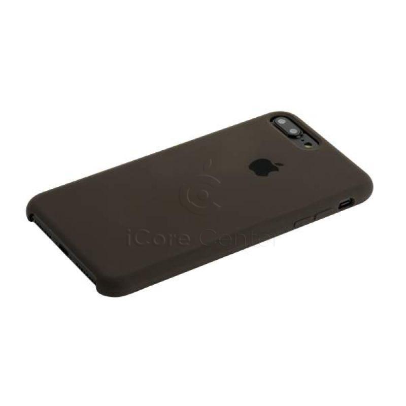 Чехол-накладка силиконовый Silicone Case для iPhone 7 Plus / 8 Plus (5.5) Charcoal grey (Уголь)