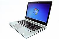 Ноутбук HP Elitebook 8460p-Intel Core-i5-2520M-2.5GHz-4Gb-DDR3-320Gb-HDD-DVD-R-W14-W7P- Б/У