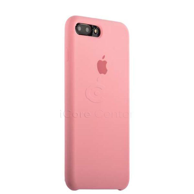 Чехол-накладка силиконовый Silicone Case для iPhone 7 Plus / 8 Plus (5.5) Light Pink (Светло-розовый)