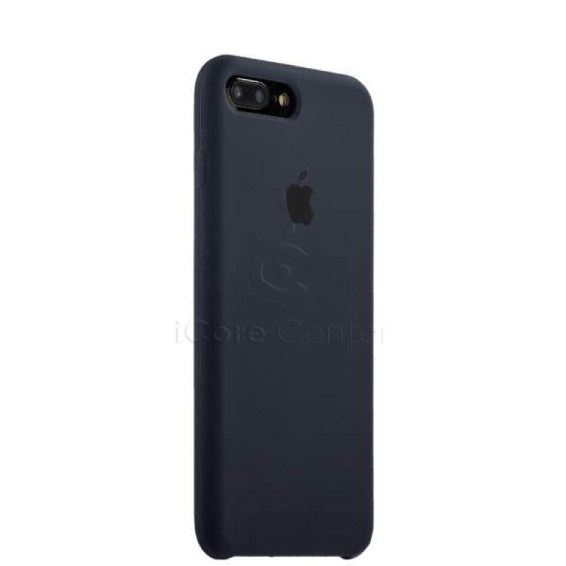 Чохол-накладка силіконовий Silicone Case для iPhone 7 Plus / 8 Plus (5.5) Midnight blue (Темно-синій)