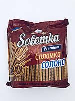 Соломка солена преміум, 240 гр, Вакулін