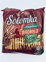 Соломка солена преміум з цибулею, 240 гр, Вакулін