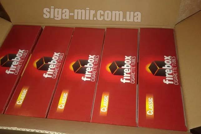 Ящик Гильзы для сигарет Firebox 500 штук (10 000 шт)