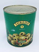 Оливки зелені без кісточки, ж/б, 310 мл, Toredo