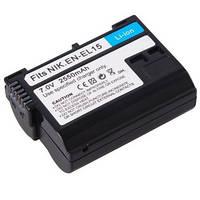 Аккумулятор для камер NIKON 1 V1, D7000, D7100, D7200, D600, D610, D800, D800E, D810 - EN-EL15 аналог 2550 ma