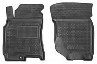 Коврики в салон Nissan X-trail (t30) 2001 - 2013, черные, полиуретановые (Avto-Gumm, 11683-11564) - передний водительский + пассажирский