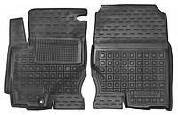 Коврики в салон Mitsubishi Colt VI (5 дверей) 2004 - 2012, черные, полиуретановые (Avto-Gumm, 11682-11564) - передний водительский + пассажирский
