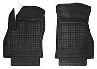 Коврики в салон Fiat Fiorino III (Qubo) 2007 - черные, полиуретановые (Avto-Gumm 11672-11564) - передний ряд