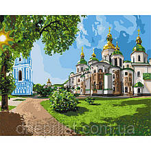 """Картина по номерам """"София Киевская"""", 40х50 см, 5*"""