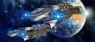 Пазли Castorland 600 ел. арт. В-060047 Космічний простір (68х30см) 35-20-5см