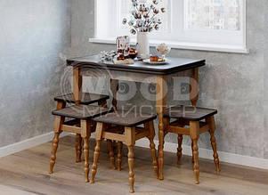 Столы и табуреты кухонные деревянные