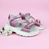 Розовые босоножки сандали для девочки TOMM размеры 30,32, фото 1