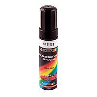 Фарба Motip для HYUNDAI в олівці з пензликом колір EB Ebony Black чорний 12мл.