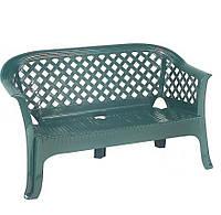 Скамейка polipropilen, green
