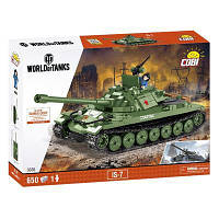 Конструктор танк ИС-7, 650 деталей, серия World Of Tanks, COBI