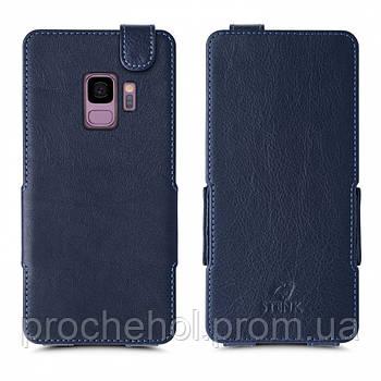 Чехол флип Stenk Prime для Samsung Galaxy S9 Синий
