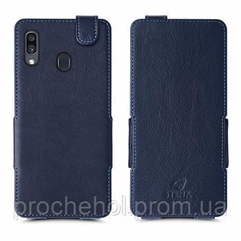 Чехол флип Stenk Prime для Samsung Galaxy A30 Синий