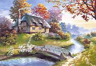 Пазлы Castorland 1500 эл. арт. С-150359 Сказочный домик (68х47см) 25-35-5см
