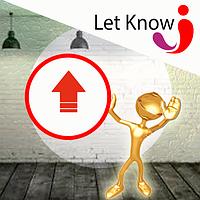 Ежедневные поднятия в верх списка на доске объявлений Let-Know на 1 месяц