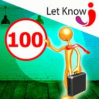 Преміум розміщення 100 позицій на дошці оголошень Let-Know на 1 місяць