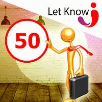 Премиум размещение 50 позиций на доске объявлений Let-Know на 1 месяц