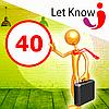 Премиум размещение 40 позиций на доске объявлений Let-Know на 1 месяц