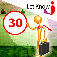 Премиум размещение 30 позиций на доске объявлений Let-Know на 1 месяц
