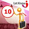 Преміум розміщення 10 позицій на дошці оголошень Let-Know на 1 місяць