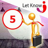Преміум розміщення 5 позицій на дошці оголошень Let-Know на 1 місяць