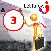 Преміум розміщення 3 позицій на дошці оголошень Let-Know на 1 місяць