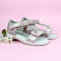 Босоножки девочке розовые Звезда Стразы тм Том.м размер 27,29, фото 1