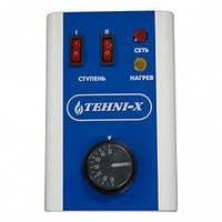 Трёхступенчаты блок управления тэнами на 220 вольт 90 градусов TEHNI-X ТБУ - 1 220 В