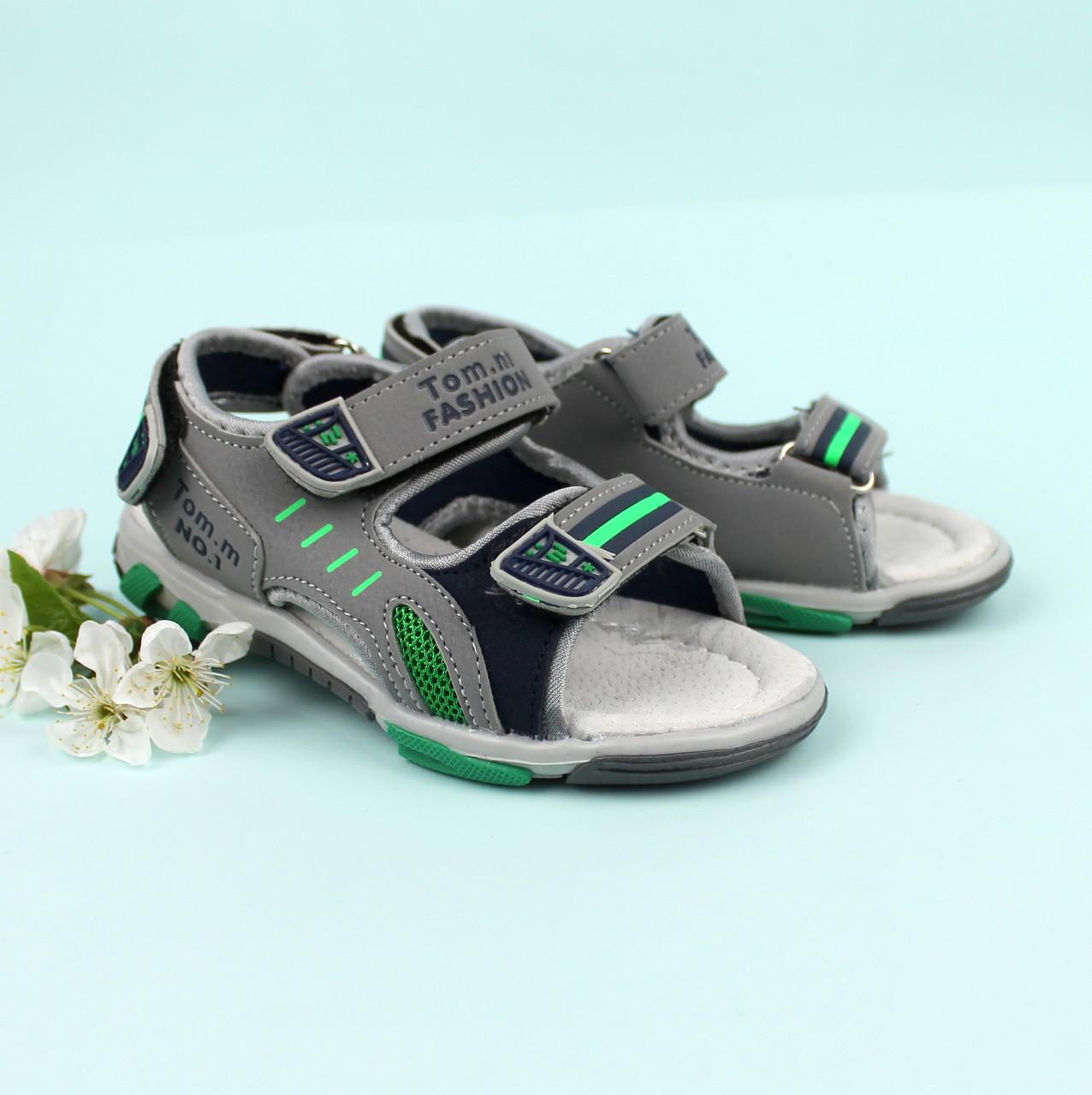 Легкие спортивные сандалии на мальчика Том.М размер 26,27