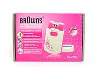 Эпилятор BROWNS 2 в 1 с бритвенной насадкой BS2219
