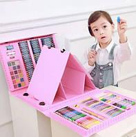 Художественный Набор С Мольбертом Для Творчества И Рисования В Чемоданчике Для Детей Цвет В Ассортименте
