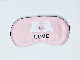 Маска для сна Love Розовый (Njk123746)