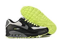 Кроссовки мужские Nike Air Max 90 (Оригинал), кроссовки найк аир макс 90, черно-белые кроссовки nike