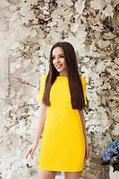 Платье женское прямое с разрезами невада модно стильно красиво42 44 46 48 50 Р