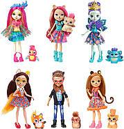 Уценка! Игровой набор Энчантималс из 6 кукол  с питомцами Enchantimals Natural Friends Collection Doll, фото 2