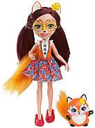 Уценка! Игровой набор Энчантималс из 6 кукол  с питомцами Enchantimals Natural Friends Collection Doll, фото 6