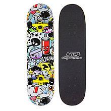Скейтборд Nils Extreme CR3108SA Pop Art