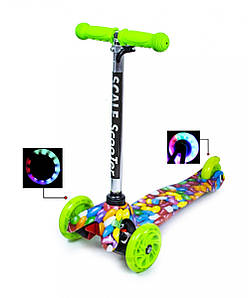 Самокат Детский Micro Mini Caramel Со светящимися колесами (SD)